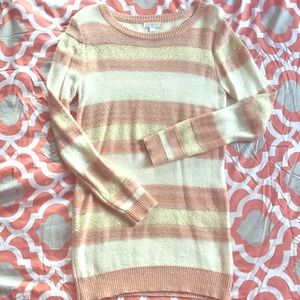 Charming Charlie lightweight striped sweater